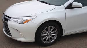2016 camry xle blizzard pearl youtube