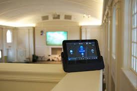 church audio video install houston a v system design company