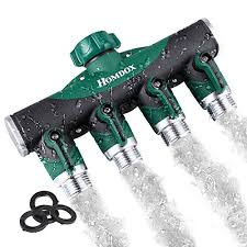 Toch Garden Hose Splitter 2 Way Y Valve Garden Hose Shut Off Valve 19 Best Water Hose Splitters