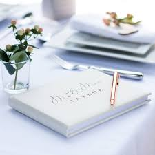 wedding register book wedding guest books and photo albums notonthehighstreet