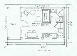 Company Floor Plan by Dovetail Cabin Company Floor Plans