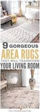 9 gorgeous area rugs that will transform your living room in