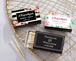 matchbook wedding favors show wedding guests youre a match with these personalized