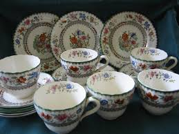 staffordshire copeland spode tea or coffee set