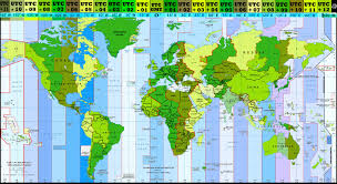 Nebraska Time Zone Map by Ontimezonecom Time Zones For The Usa And North America Geography