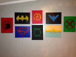 Nerdy Home Decor by Justice League Bathroom Decor Home Decoration Ideas Designing