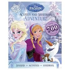 disney frozen activity storybook adventure book kmartnz