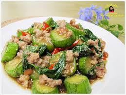 cuisiner vegan vegan adaptable มะเข อยาวผ ดเต าเจ ยวหม ส บ มะเข อยาว 1 ล ก
