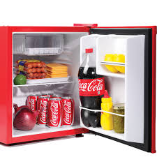 coca cola fridge glass door coca cola mini fridge w top ice tray freezer compact food