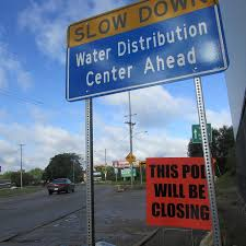 Michigan how to travel for free images Flint residents must travel farther to get free bottled water JPG