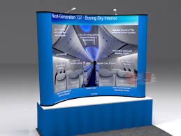 table top banners for trade shows pop up booth displays with superb fit and finish