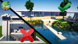 house building tips 10 easy minecraft modern house tips youtube