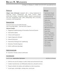 Student Internship Resume Template Cover Letter Sample Resumes For Internships Sample College Resumes