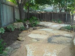 Backyard Landscape Backyard Landscape A Decent Size Decomposed Granite Pathway And
