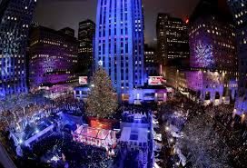 when is the christmas tree lighting in nyc 2017 thousands gather for nyc rockefeller center christmas tree lighting