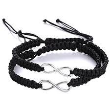 infinity braid bracelet images 2 pcs infinity symbol bracelet infinity bracelet jpg