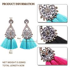 best earrings 2018 best fashion jewelry tassel dangle earrings cheap