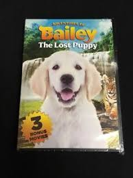 adventures of bailey the lost puppy with 3 bonus movies dvd