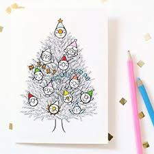 printable christmas cards to colour in celebrations pinterest