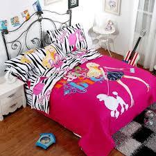 Transformer Bed Set Pink Zebra Duvet Cover Sweetgalas