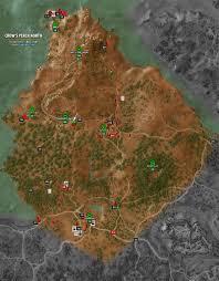 wild hunt witcher 3 werewolf crow s perch north map the witcher 3 walkthrough maps game guide