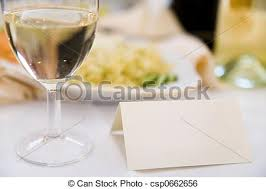 art of the table reservations reservation card on the table in restaurant stock image search