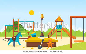 Kids Outdoor Entertainment - playground stock images royalty free images u0026 vectors shutterstock