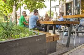 downtown greens up with pocket patios curbed austin