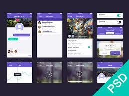 android app design 35 gorgeous free app design templates