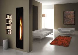 vertical electric fireplace binhminh decoration