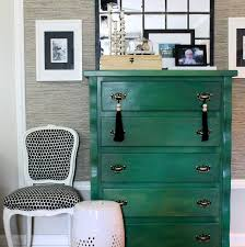 jade green chest vintage entrance foyer the hunted interior