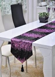 sequin table runner wholesale wholesale gold sequin table runner tablecloth decorations bed