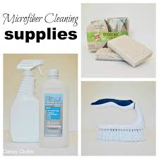 Homemade Upholstery Shampoo How To Clean Microfiber With Professional Results Classy Clutter
