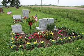 Family Garden Ideas Cemeteries Minnesota Prairie Roots With Garden Ideas For Grave