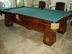 brunswick monarch pool table the hudson restored antique billiards table from brunswick balke