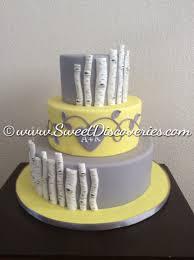 rustic birch wedding cake sweet discoveries
