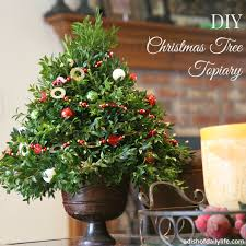 Real Topiary Trees For Sale - diy christmas tree topiary