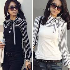 black and white striped blouse formal office black white striped blouses bow