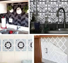 Temporary Solutions For Renters Design Series  Ingenious - Temporary kitchen backsplash