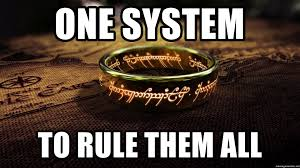 One Ring To Rule Them All Meme - one system to rule them all lotr one ring to rule them all