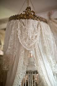 Crib Canopy Crown by Sheelin Lace