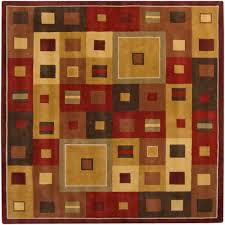Area Rug Square Artistic Weavers Michael Burgundy 9 Ft 9 In Square Area Rug Mcl