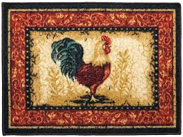 rooster kitchen rugs french country u2014 room area rugs accent