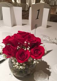 roses centerpieces all roses centerpieces set of 6 about 49 95 each