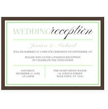 reception invitation wording 8795 together with wedding reception