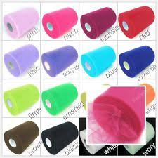tulle spools multi color wedding tulle ebay