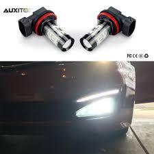 audi a6 fog light bulb 2x h8 h11 h3 led car fog lights driving drl bulb 50w for audi a3 a4