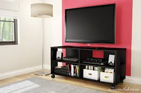 Living Room Shelf Unit by Amazon Com Jambory Tv Stand Storage Unit On Casters Fits Tvs Up