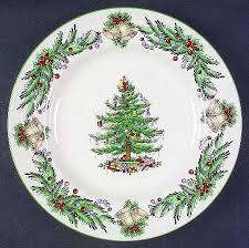 christmas plate vignette design festive christmas plates for the table