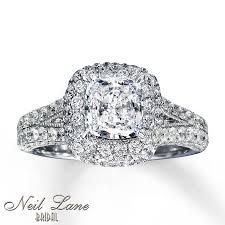 Neil Lane Wedding Rings by Kay Neil Lane Bridal Ring Ct Tw Diamonds K White Gold In Italy